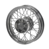 Rear Laced Wheel - Chrome - Image 1 of 3