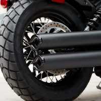 Rear Laced Wheel - Gloss Black