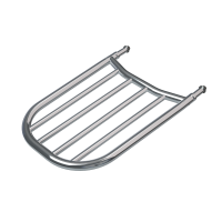Sissy Bar Luggage Rack - Chrome