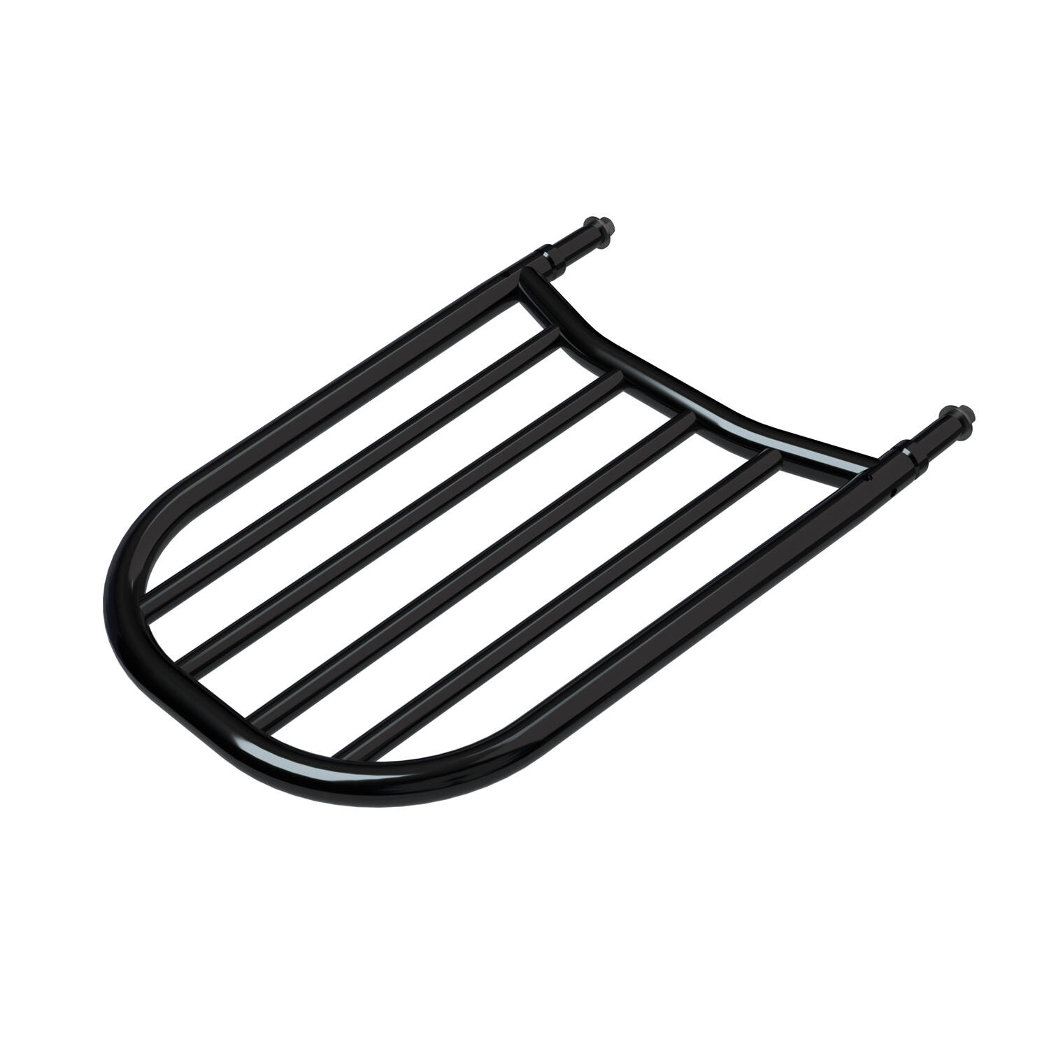Sissy Bar Luggage Rack - Gloss Black
