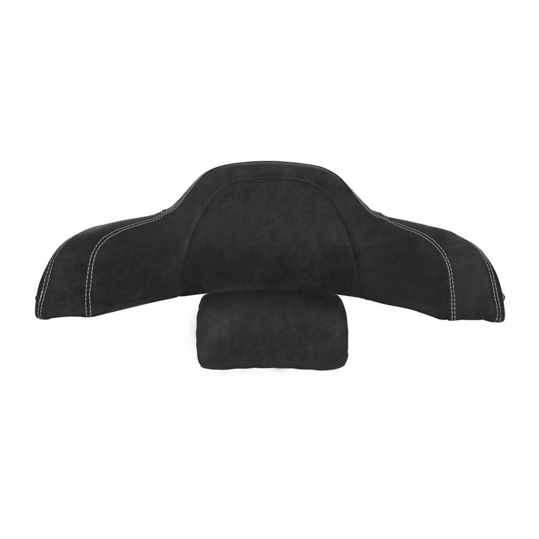Genuine Leather Trunk Backrest Pad - Black