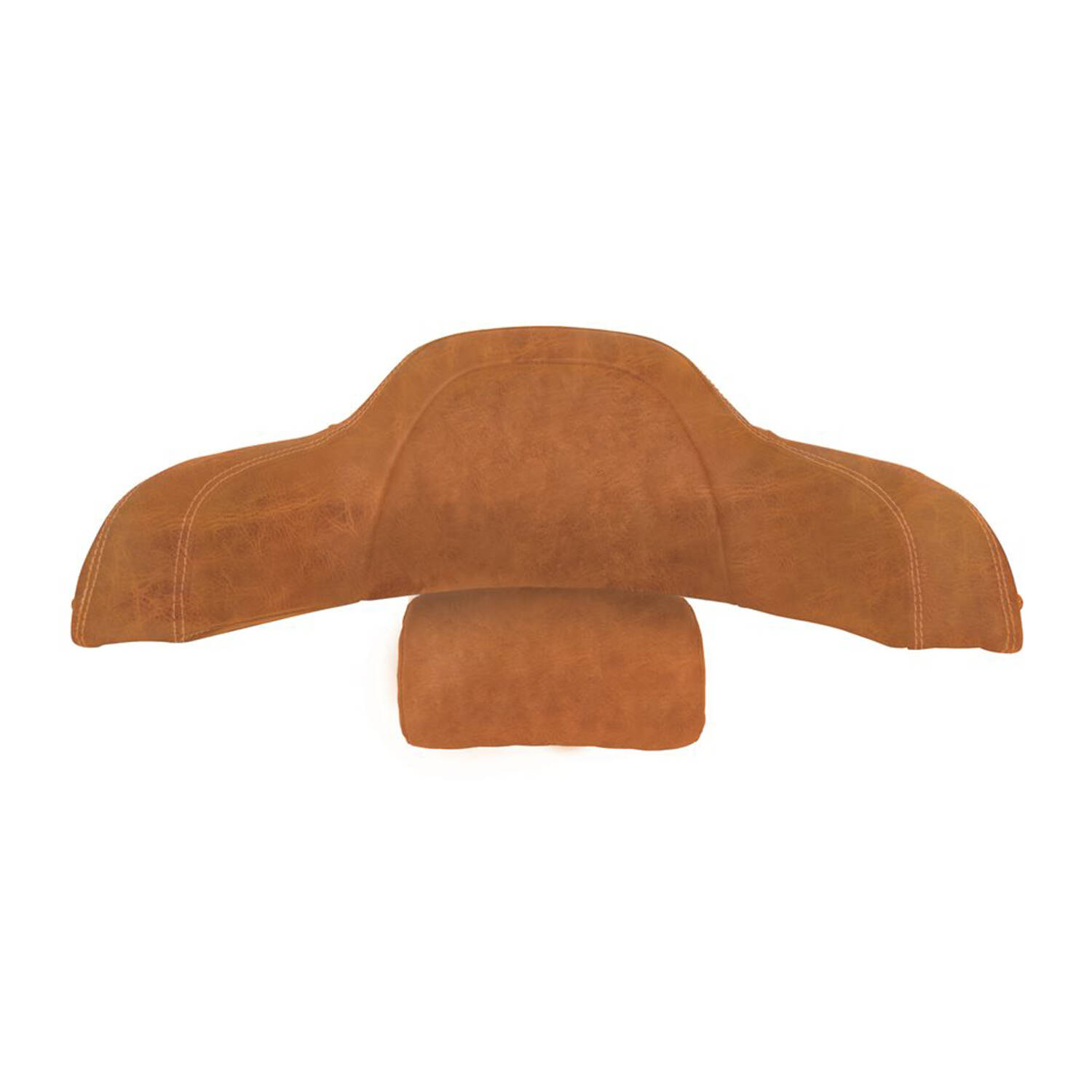 Genuine Leather Trunk Backrest Pad - Desert Tan