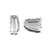 Billet Master Cylinder Covers - Chrome