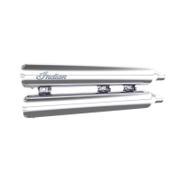 Stage 1 Straights Slip-On Exhaust Kit - Chrome