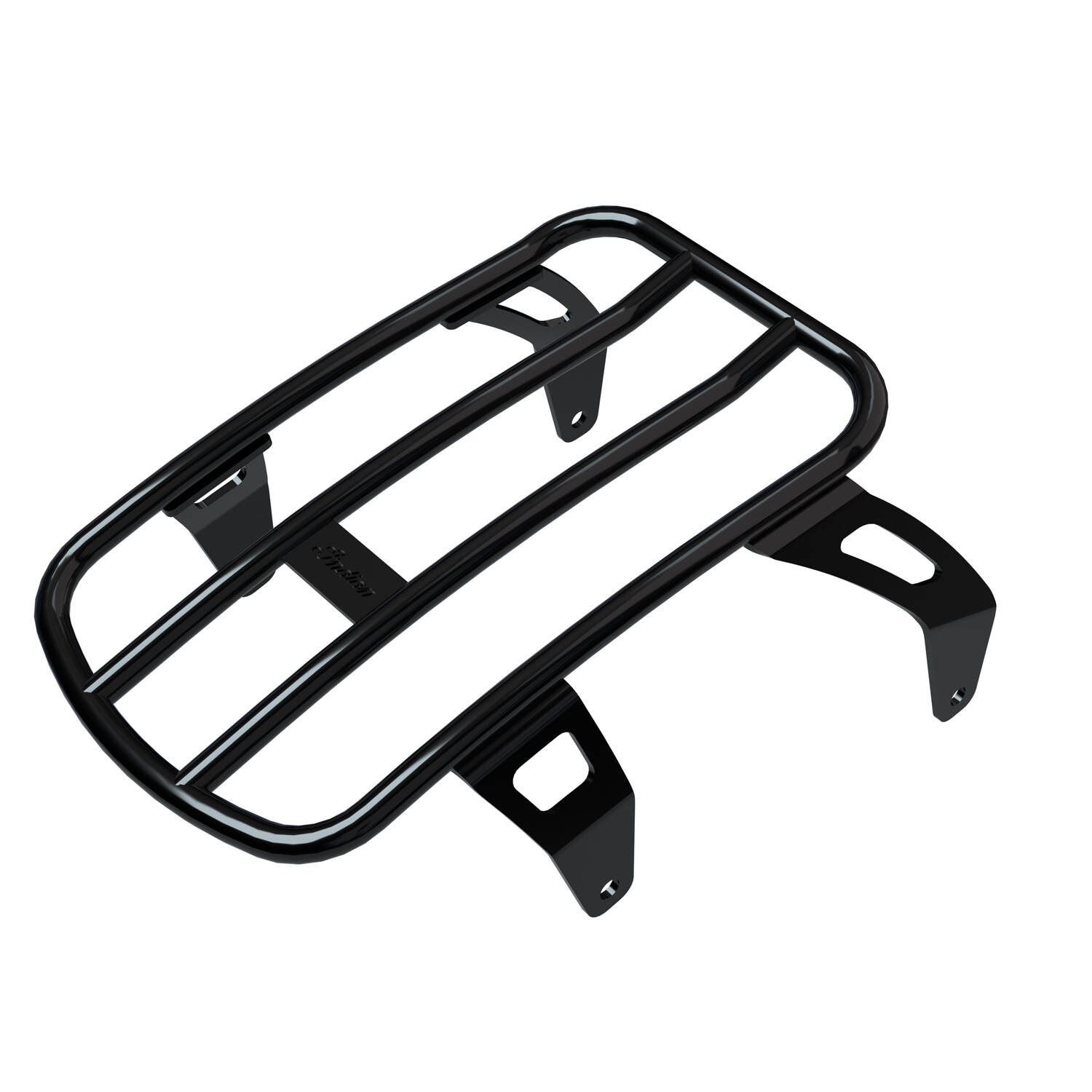 Solo Luggage Rack - Gloss Black
