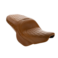 Genuine Leather Touring Heated Seat - Desert Tan