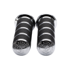 Select Handlebar Grips in Chrome, Pair - Image 1 of 4