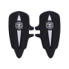 Select Passenger Floorboards in Black, Pair - Image 1 of 4