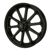 "19"" 10-Spoke Front Wheel - Black"