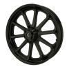 Cast Aluminum 19 in. 10-Spoke Front Wheel Kit, Black - Image 1 of 4