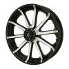 Cast Aluminum 19 in. 10-Spoke Front Wheel Kit, Contrast Cut - Image 1 of 2