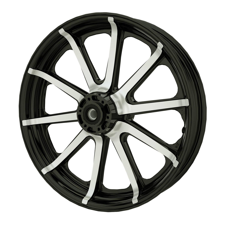 """19"""" 10-Spoke Front Wheel - Contrast Cut"""