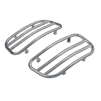 Saddlebag Lid Racks - Chrome