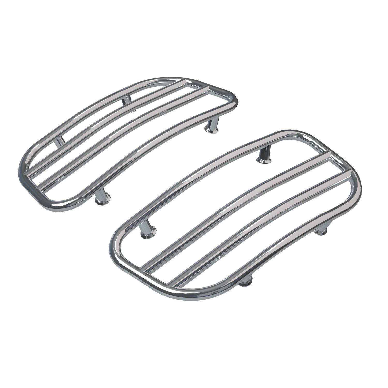 Saddlebag Lid Racks - Chrome