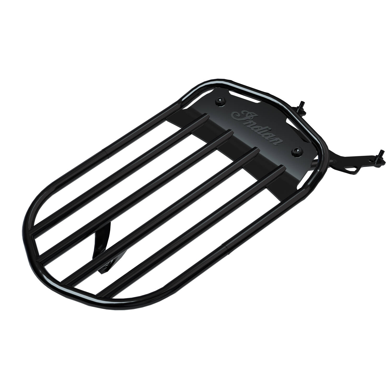 Pinnacle Solo Luggage Rack - Gloss Black