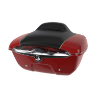 Quick Release Trunk - Indian Motorcycle Red over Thunder Black
