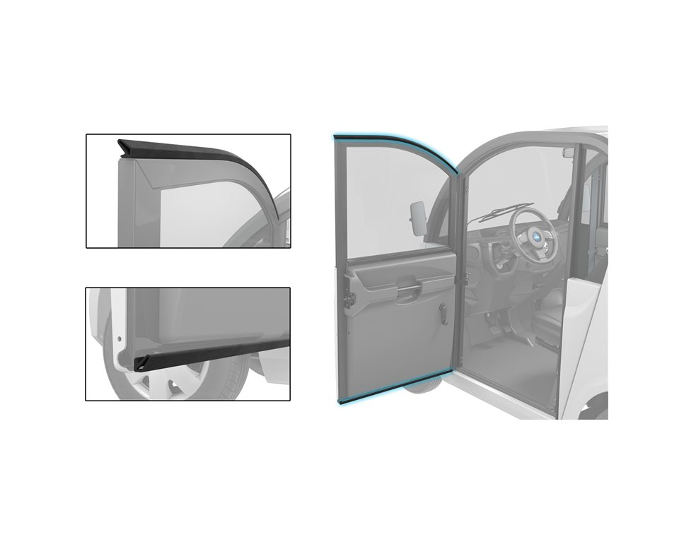 Door Seals - 6 Passenger