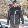 Men's Full-Zip Mid Layer Jacket with Polaris Logo, Black - Image 4 of 4
