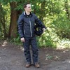 Unisex Full-Zip Packable Waterproof Jacket with Removable Hood, Gray - Image 3 of 3