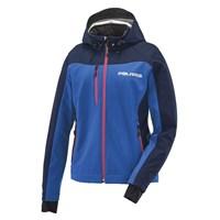 Women's Softshell Jacket with White Polaris® Logo, Blue