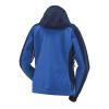 Women's Softshell Jacket with White Polaris® Logo, Blue - Image 2 de 3