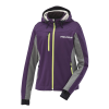 Women's Softshell Jacket with White Polaris® Logo, Purple - Image 1 de 4