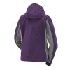 Women's Softshell Jacket with White Polaris® Logo, Purple - Image 2 de 4