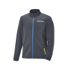 Men's Full-Zip Mid Layer Jacket with White Polaris® Logo, Gray - Image 1 of 3
