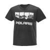 Men's 4-Scene Graphic T-Shirt with Polaris® Logo, Black - Image 1 de 1