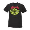Men's Badge Graphic T-Shirt with Polaris® Logo, Black - Image 1 de 2