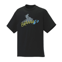 Youth Brap Graphic T-Shirt with Polaris® Logo, Black