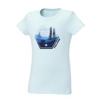 Youth Short-Sleeve Scenic Graphic Tee with Polaris® Logo, Navy Heather