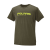 Men's Graphic T-Shirt with Polaris® Logo, Olive Heather - Image 1 of 3