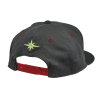 Men's Dash Snapback Hat with Lime Polaris® Logo, Gray - Image 2 de 4