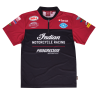 Men's Flat Track Racing T-Shirt, Red  - Image 2 of 3