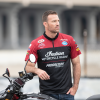 Men's Flat Track Racing T-Shirt, Red  - Image 1 of 3