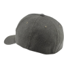 Unisex (S/M) Flexfit Hat with Retro Polaris® Logo, Gray - Image 2 of 2