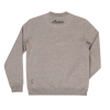 Men's Crew Pullover Sweatshirt, Gray - Image 2 of 4
