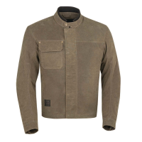 Men's Waxed Cotton Riding Jacket, Olive