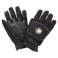 Men's Mesh Warm-Weather Riding Gloves, Black