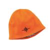 Men's Fleece Reversible Camo Beanie, Camo/Blaze Orange - Image 3 of 5
