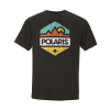 Men's Hex Graphic T-Shirt with Polaris® Logo, Black - Image 1 de 2