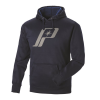 Men's Retro Hoodie with Logo, Navy - Image 2 of 2