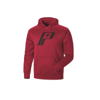 Men's Retro Logo Hoodie - Red