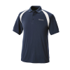 Men's Short-Sleeve Classic Core Polo with White Logo, Navy - Image 1 of 2
