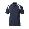 Men's Short-Sleeve Classic Core Polo with White Logo, Navy - Image 1 de 2