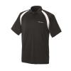 Men's Short-Sleeve Classic Core Polo with White Logo, Black - Image 1 de 2