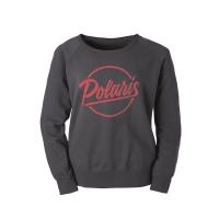Women's Crew Sweatshirt with Script Polaris® Logo