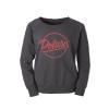 Women's Crew Sweatshirt with Script Polaris® Logo, Gray - Image 2 of 3