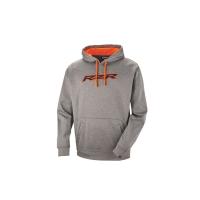 Men's Vapor Hoodie - Gray/Orange